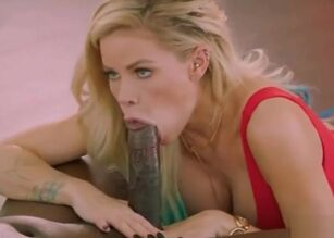 Dildo down her throat
