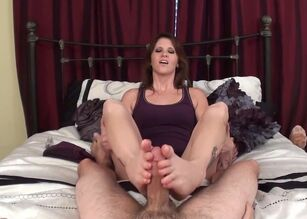 Nylon feet video
